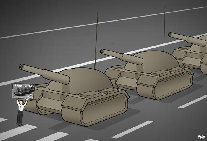 Tiananmen Square 1989-2014