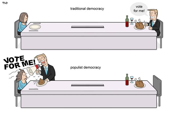 160916 Populism-democracy