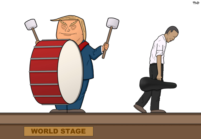 161116 Trump-Obama-world-stage