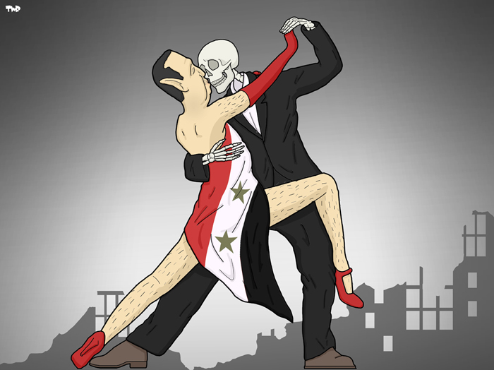161122 Assad-Syria-Dance with death 2