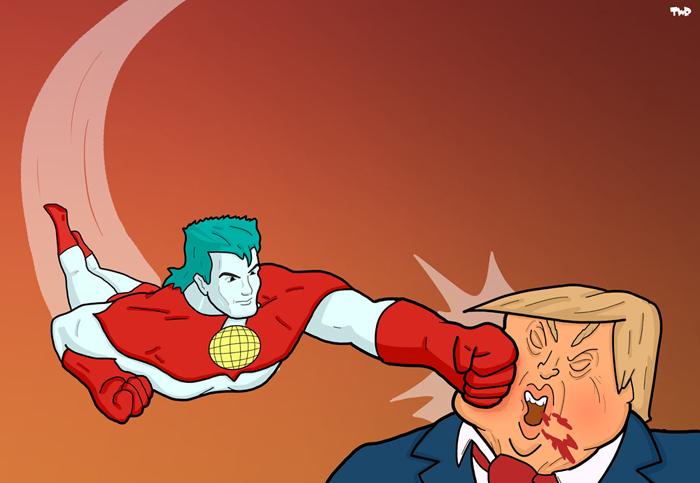 170602 Captain Planet versus Trump