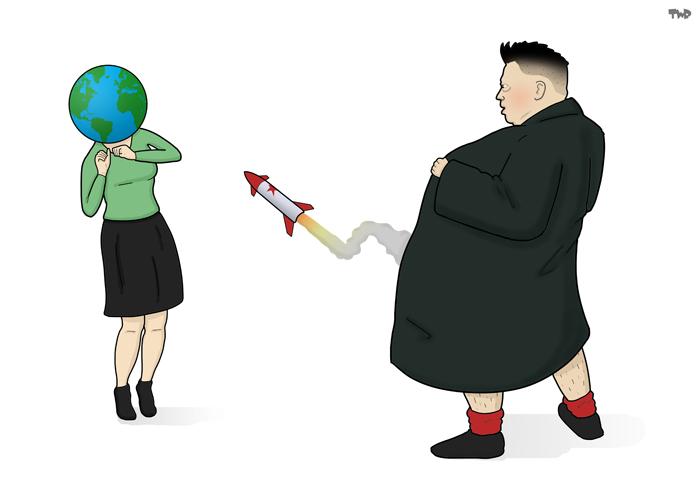 170704 North Korea missile test