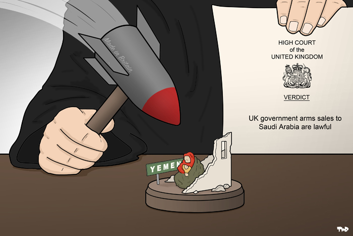 170710 UK-Saudi Arabia arms deals