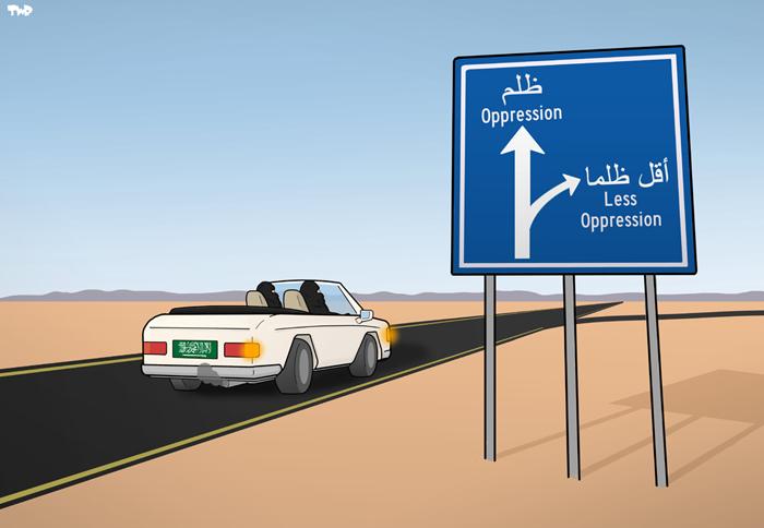 170927 Saudi Arabia - women driving