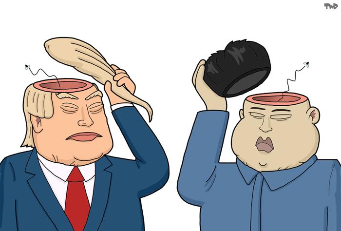 160601 Trump-Kim Jong Un