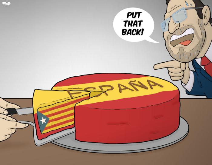 170915 Spain versus Catalonia