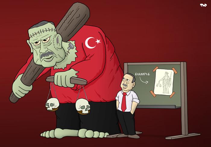 Justice in Turkey - Erdogan