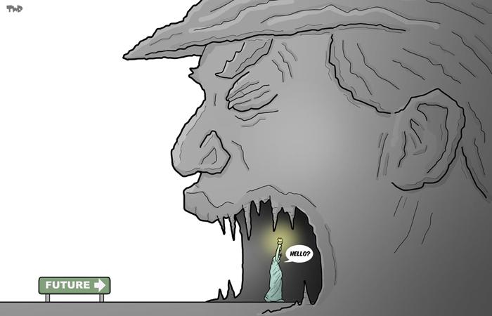 161110 Trump-uncerain-future