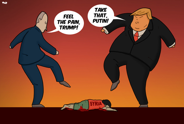 180417 Putin-Trump-Syria