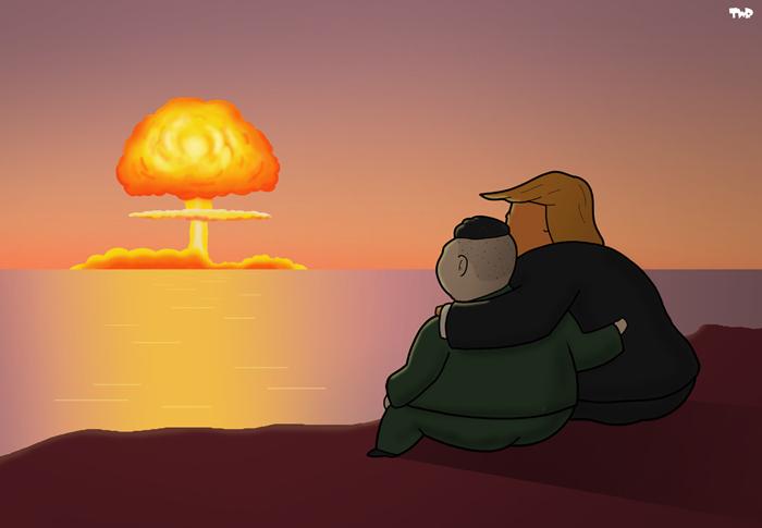 180424 Trump Im Jong-un bromance