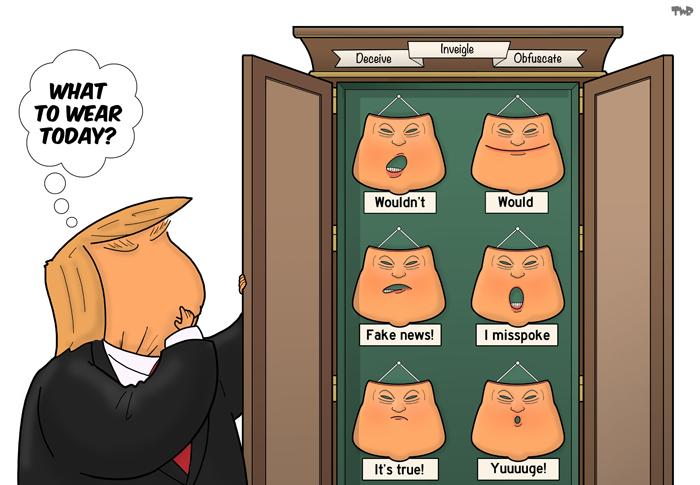 180719 Trump masks