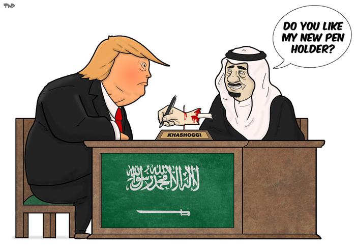 181011 US-Saudi Arabia relations