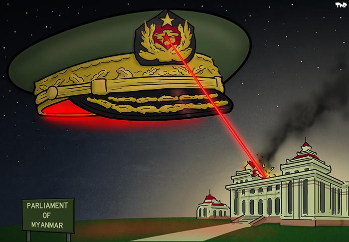 210202 Myanmar military coup