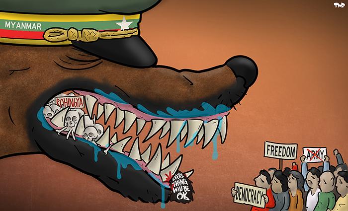 210311 Repression Myanmar
