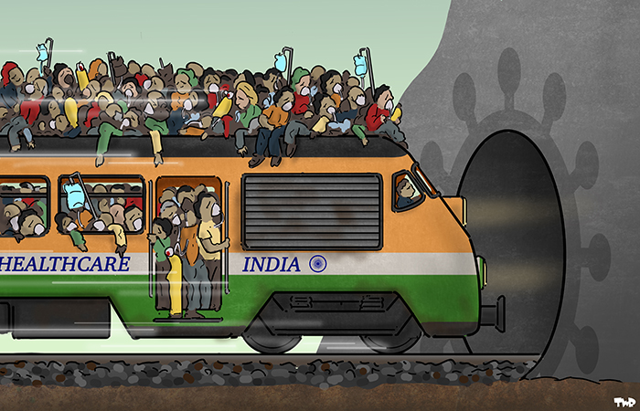 210423 Corona in India
